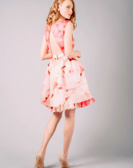Alice and Olivia Catherine SIlk Dress, baksida