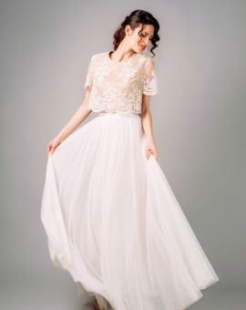 Needle and Thread Bridal Tulle Skirt
