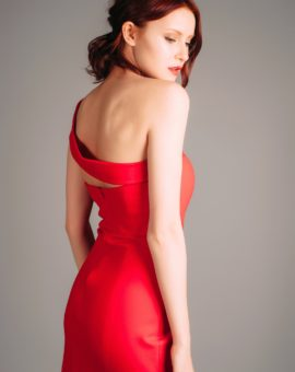 Hyra Atelier Miss Lu Red Mini Dress