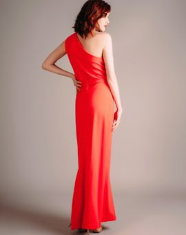 Hyr F.A.S red dress with slit