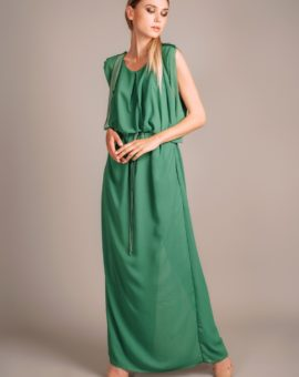 Hyra Acne Studios Green Marney Dress