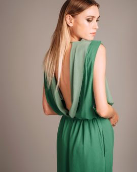 Hyra klänning Acne Studios Green Marney Dress