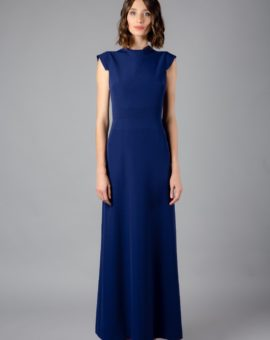 AQ/AQ Blue Vapid Maxi dress