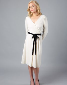 Diane von Furstenberg Seduction Long-Sleeve Dress