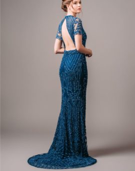 Rent By Malina Cara Blue Gown