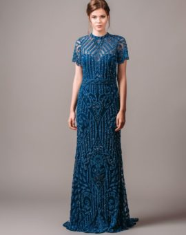 By Malina Cara Blue Gown