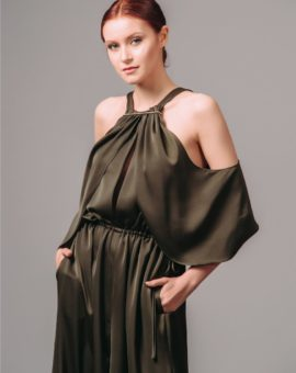 Rent AQ/AQ Fayza Wide-Leg Jumpsuit