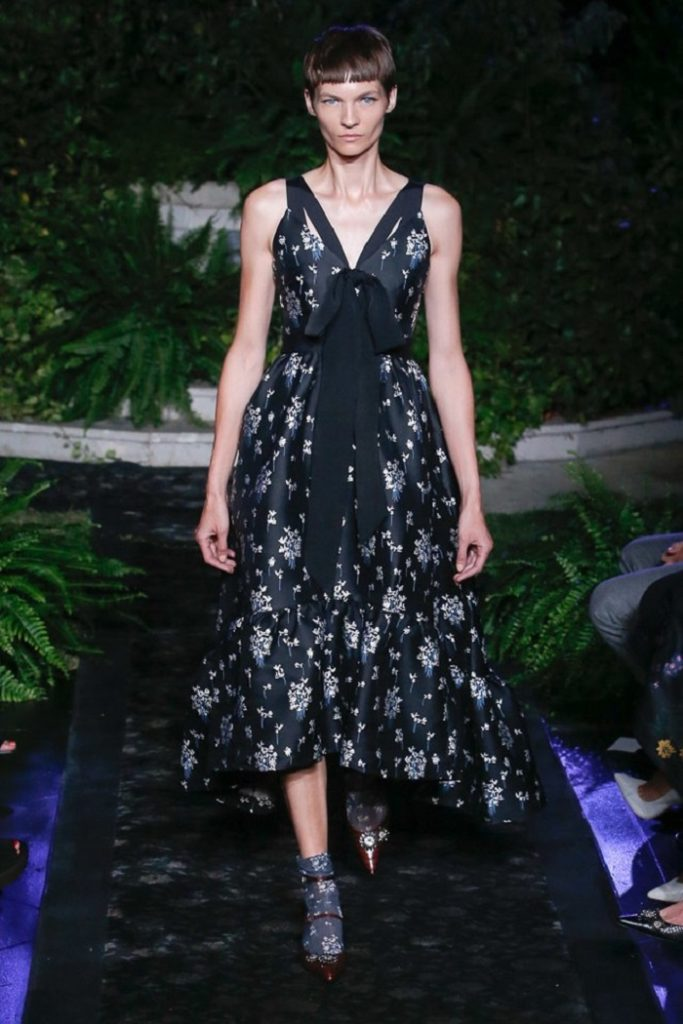 Erdem x HM Collaboration Runway looks