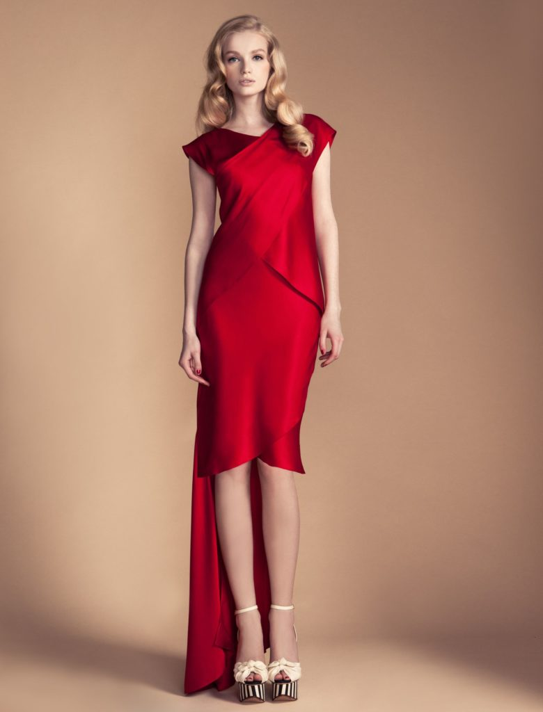 Temperley London Red Estella Dress